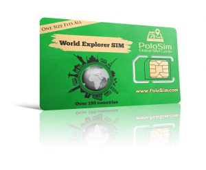 World SIM card - PoloSim
