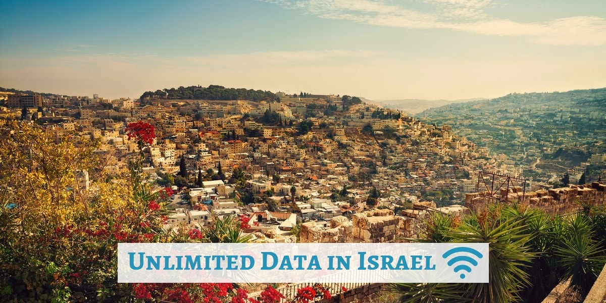 unlimited data in israel Nes Mobile